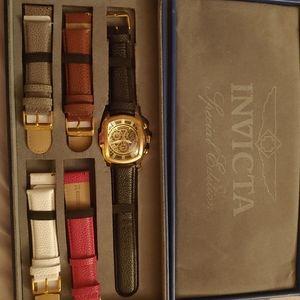 Mens Invicta interchangeable watch